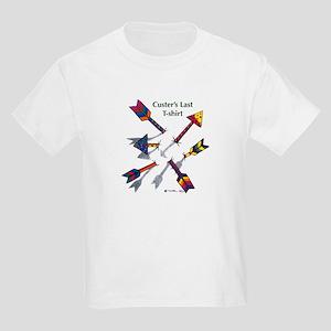 'Custer's Last T-shirt' Kids Light T-Shirt