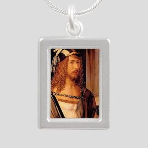 Albrecht Durer Self Port Silver Portrait Necklace