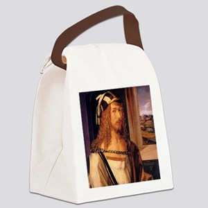 Albrecht Durer Self Portrait Canvas Lunch Bag