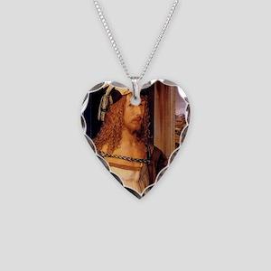 Albrecht Durer Self Portrait Necklace Heart Charm