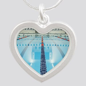 200286923-001 Silver Heart Necklace