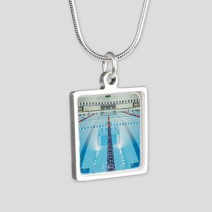 200286923-001 Silver Square Necklace