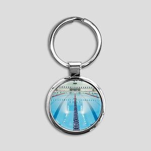 200286923-001 Round Keychain