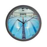 Swimming Wall Clocks