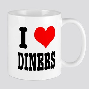 I Heart (Love) Diners Mug
