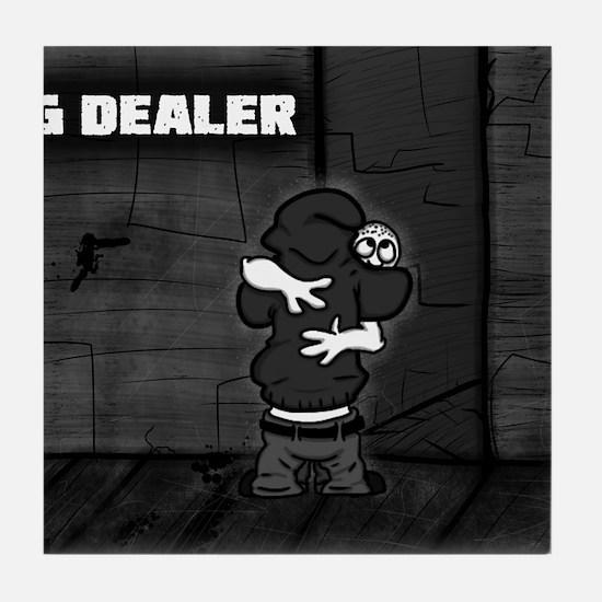 Hug Dealer Tile Coaster