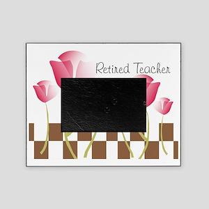 Retired Teacher pillow 2 Picture Frame