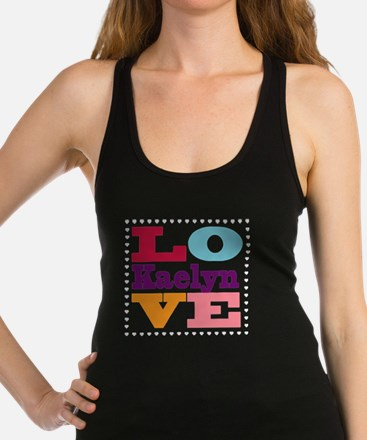 I Love Kaelyn Racerback Tank Top