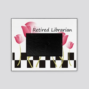 Retired Librarian Pillow 1 Picture Frame