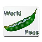 World Peas Mousepad