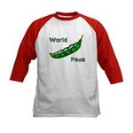 World Peas (2-Sided) Kids Baseball Jersey
