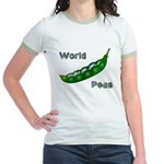 World Peas (2-Sided) Jr. Ringer T-Shirt