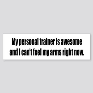 Personal Trainer / Awesome Bumper Sticker