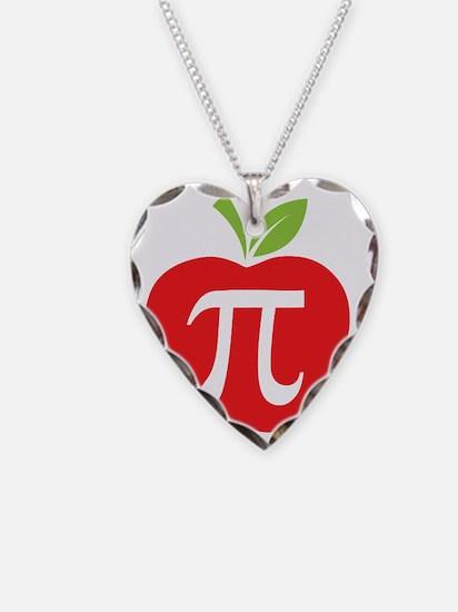 Apple Pi Necklace