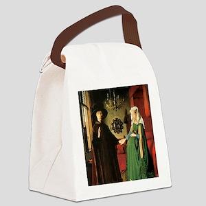 Jan van Eyck The Marriage Canvas Lunch Bag