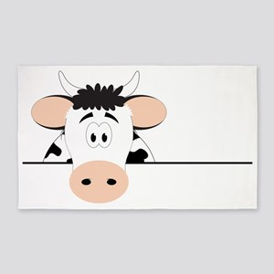 Cow 3'x5' Area Rug