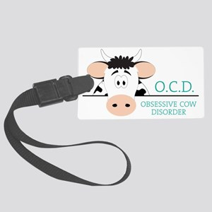 O C D Large Luggage Tag