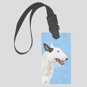 Bull Terrier Large Luggage Tag