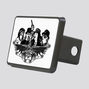 The Band & Logo Rectangular Hitch Cover
