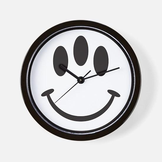 Third Eye Smiley Wall Clock