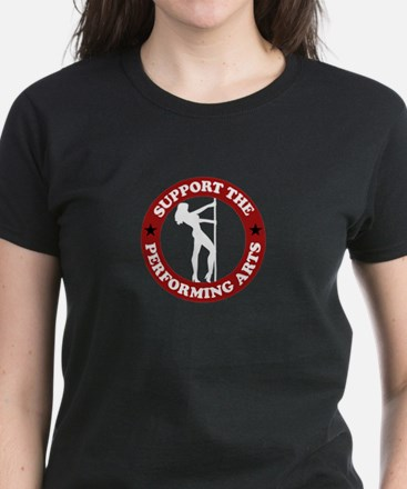 Support the performing arts Women's Dark T-Shirt