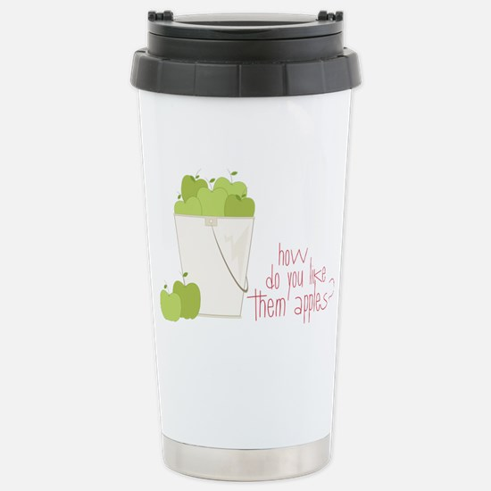 Them Apples Stainless Steel Travel Mug