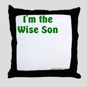 Im the Wise Son Throw Pillow