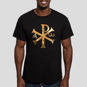 KI RHO Men's Fitted T-Shirt (dark)