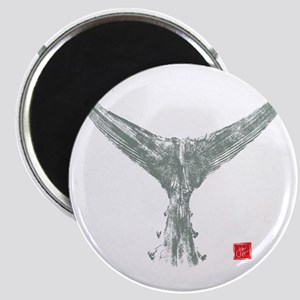 tuna tail on black Magnet