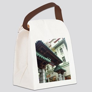 Chinatown, San Francisco Canvas Lunch Bag