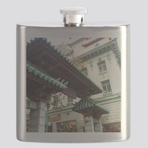 Chinatown, San Francisco Flask