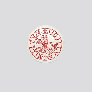 Knights Templar Mini Button