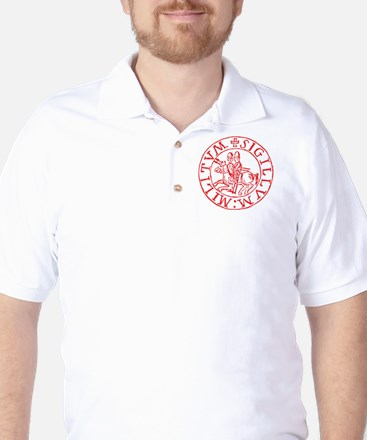 Knights Templar Golf Shirt