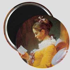 Jean-Honore Fragonard The Reader Magnet