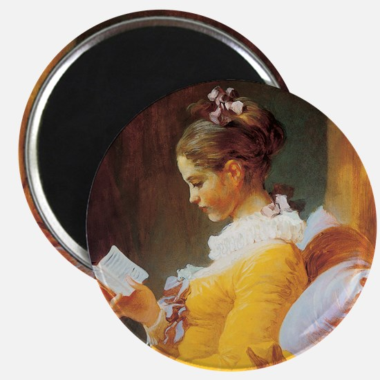 Jean-Honore Fragonard The Reader Magnet