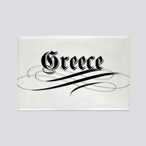 Greece Gothic Rectangle Magnet