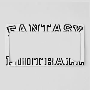 Fantasy FootballLegend License Plate Holder