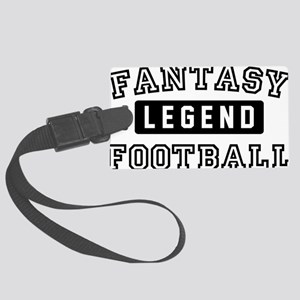 Fantasy FootballLegend Large Luggage Tag