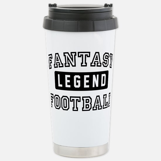 Fantasy FootballLegend Stainless Steel Travel Mug