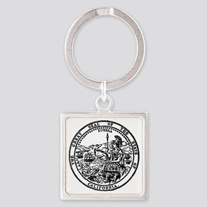 great seal Ca. Square Keychain