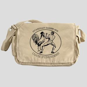 Black GGCP Messenger Bag