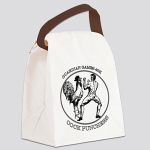 Black GGCP Canvas Lunch Bag