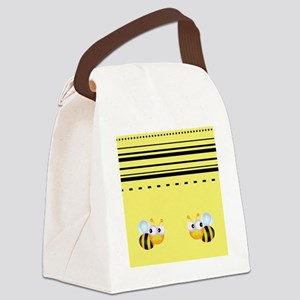 Cute Bumble Bee Graphics Canvas Lunch Bag