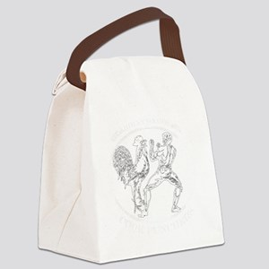 White GGKP Canvas Lunch Bag