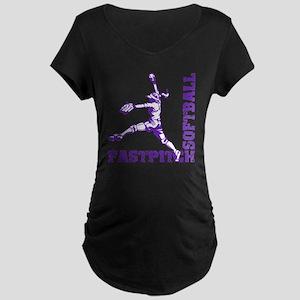 purple Corner Maternity Dark T-Shirt