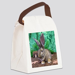 Fezzik in the Woods-1 full Canvas Lunch Bag