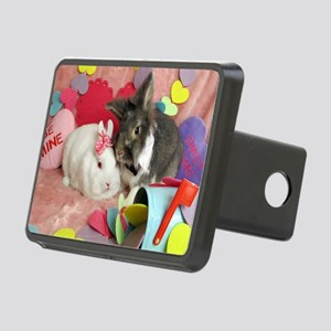 Skyler and Olivia-Valentin Rectangular Hitch Cover