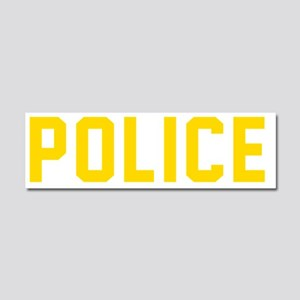 POLICE Car Magnet 10 x 3