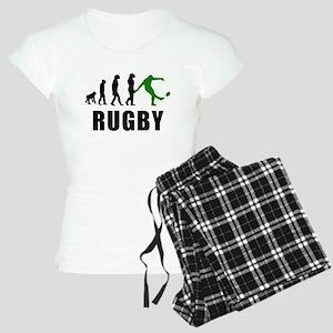 Rugby Kick Evolution (Green) pajamas