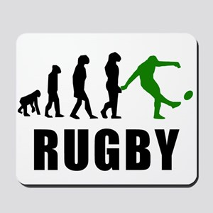 Rugby Kick Evolution (Green) Mousepad